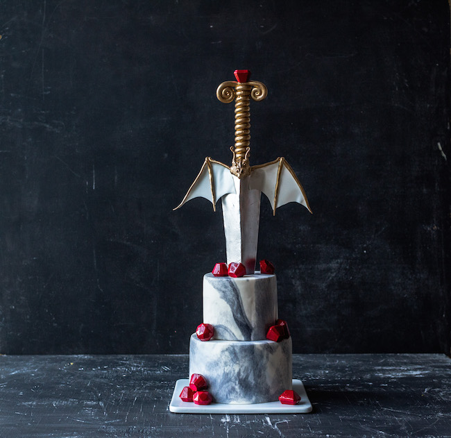 Man About Not Game of Thrones Dragon Cake