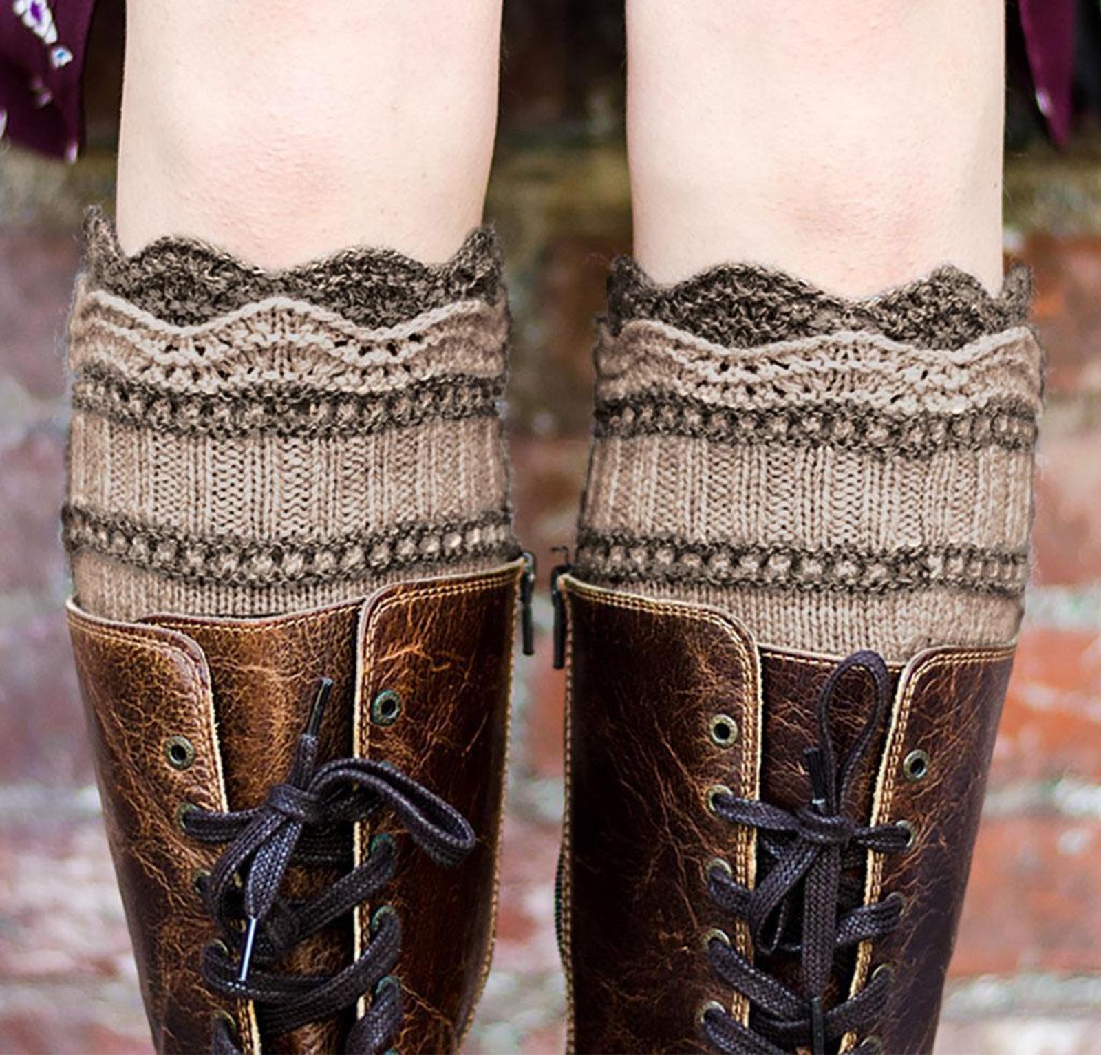 Brooklyn Boot Liners Knitting Kit