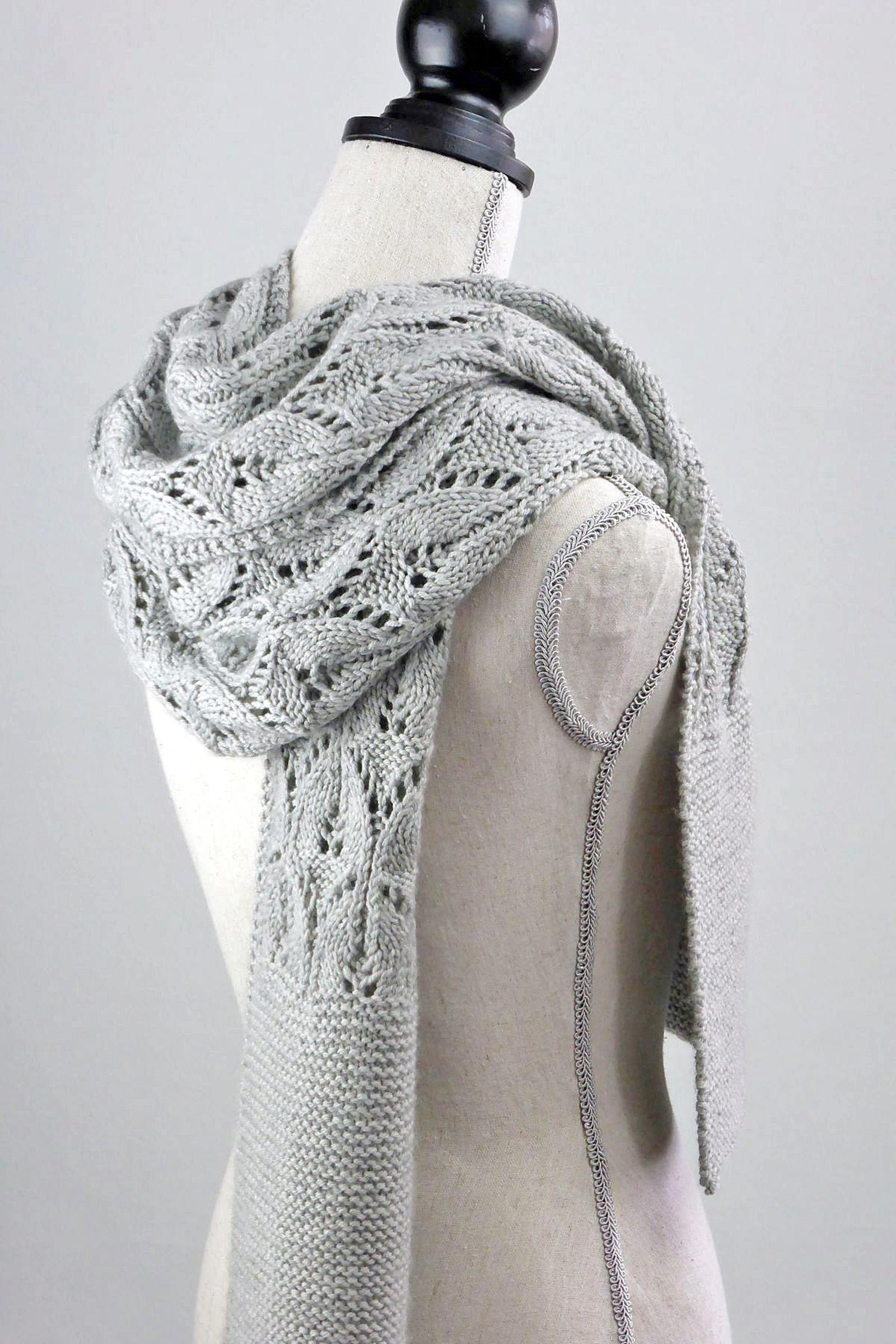cloud covered scarf