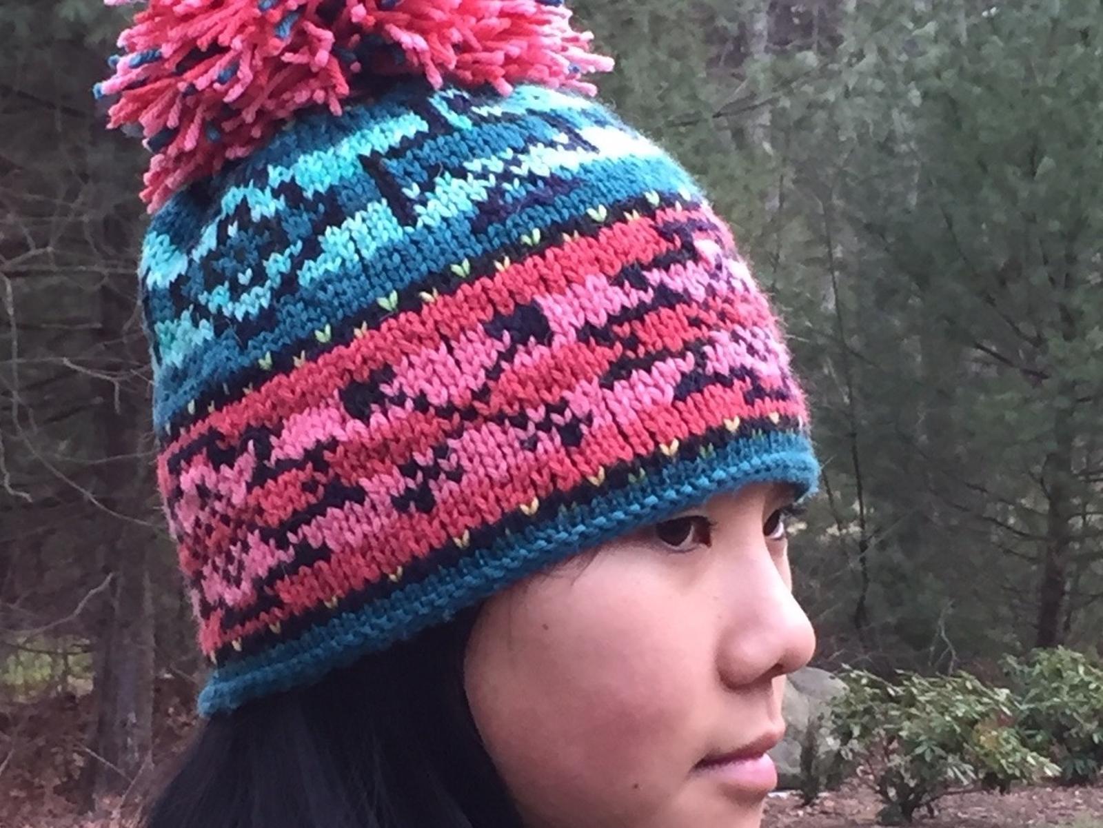 Sol Azteca Hat Knitting Pattern