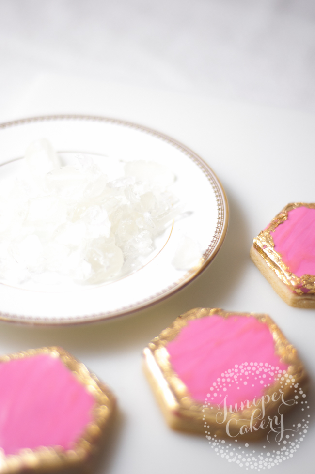 Sugar geode cookie tutorial