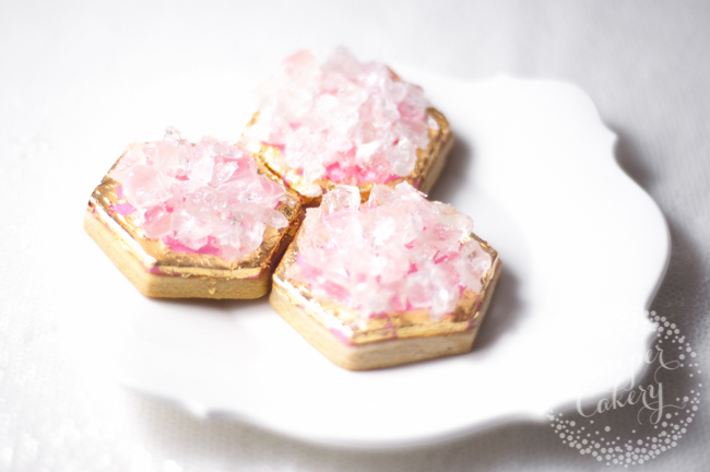 How to make easy geode cookies