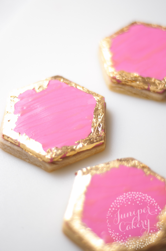 How to decorate easy geode cookies