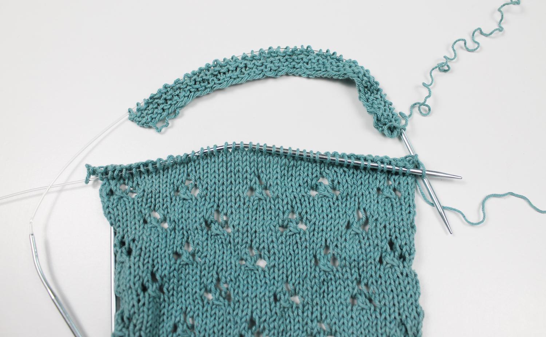 Knitting the Three-Needle Join