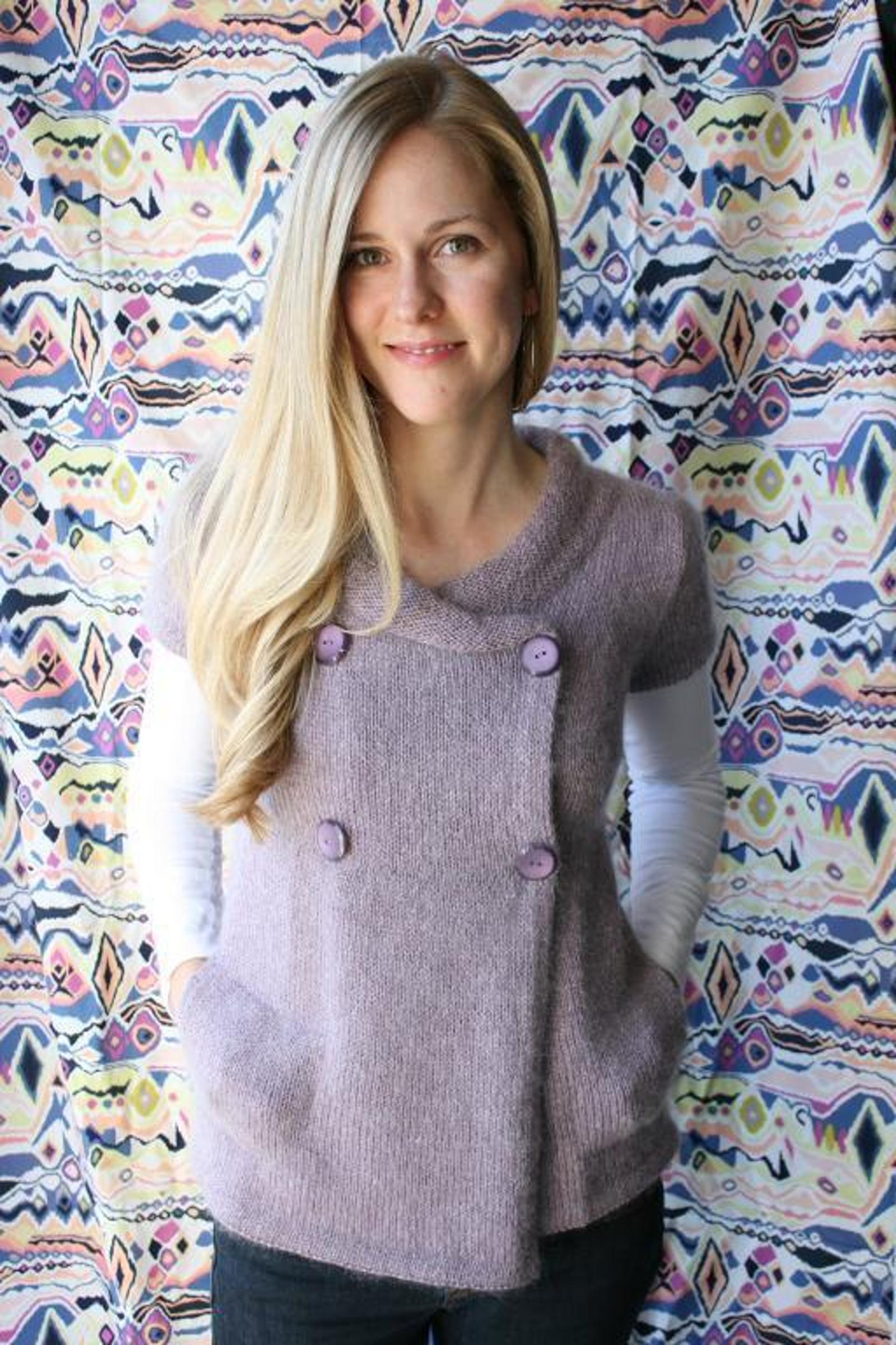 Koukla Cardigan Knitting Pattern