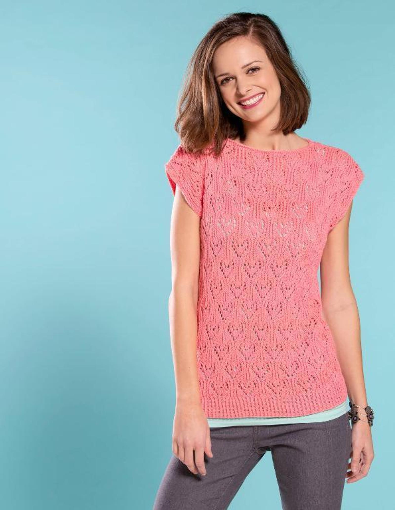 Love Lace Tee Knitting Pattern