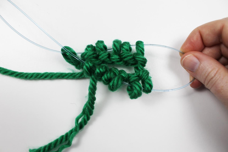 Knitting magic loop two at a time