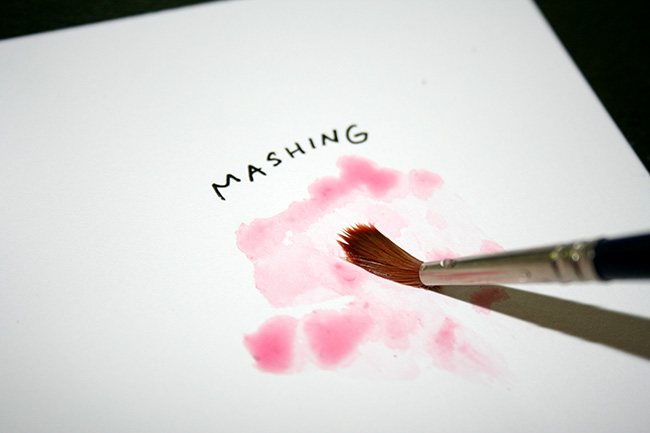 Mash the brush