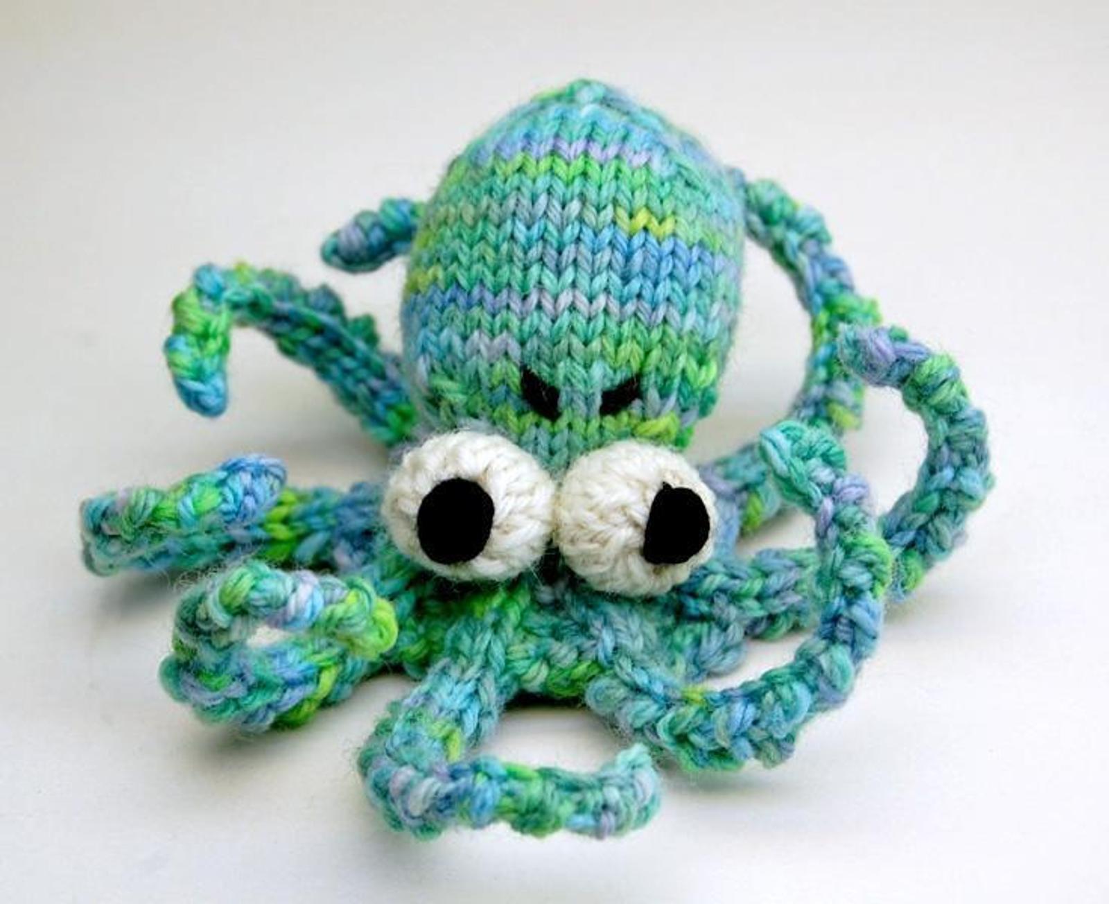 Obstinate Octopus Amigurumi