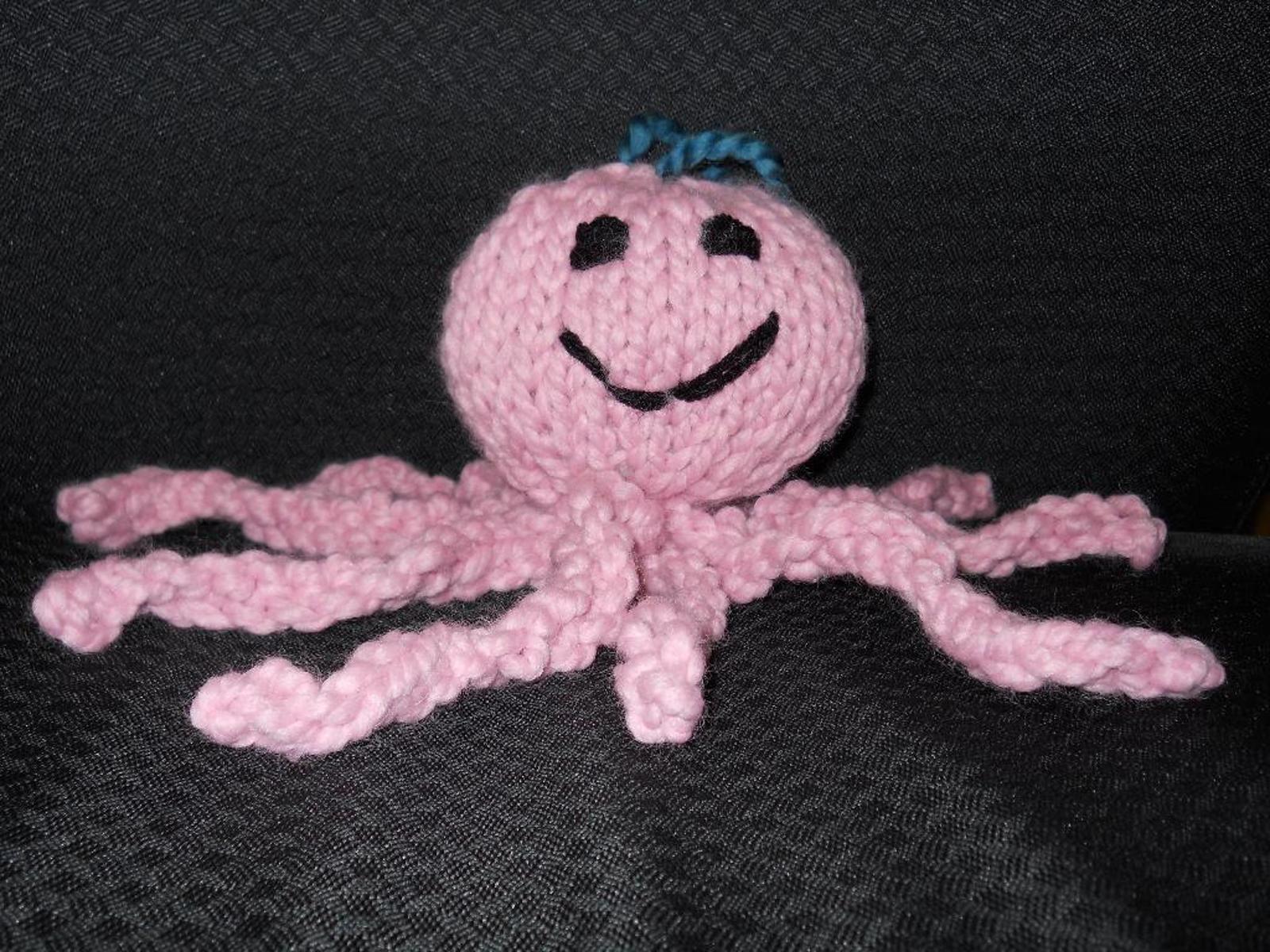 Octopus Knitting Pattern