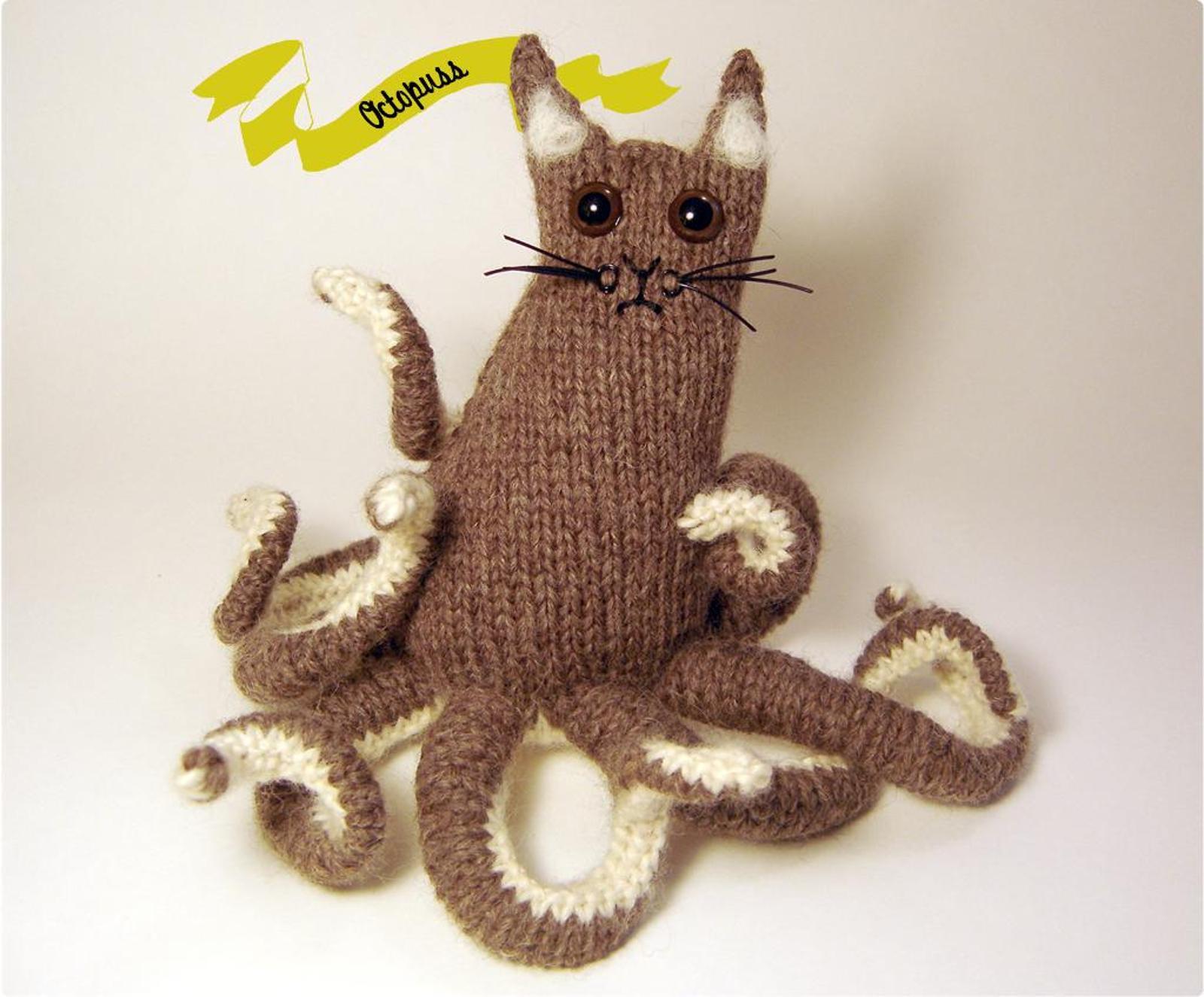 Octopuss Knitting Pattern