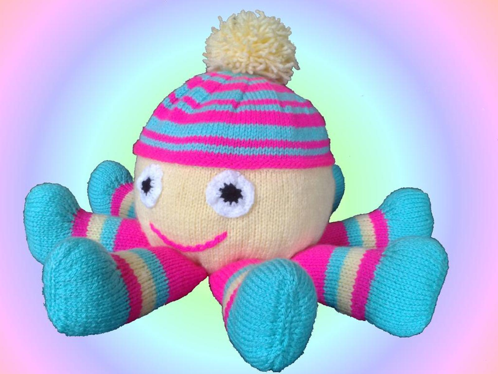 Octopus Soft Toy Knitting Pattern
