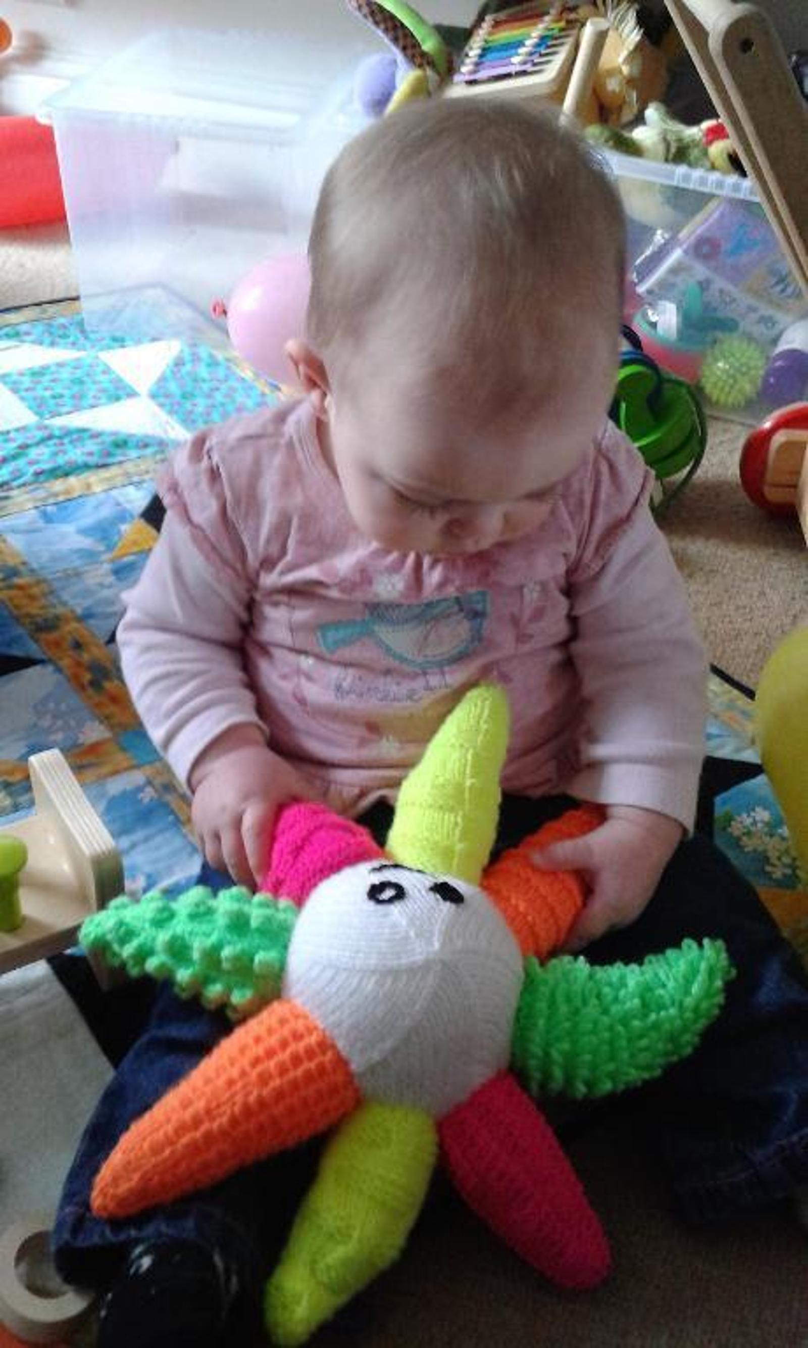 Ollie the Octopus Baby Toy