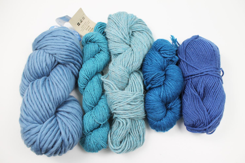 Organizing yarn by color