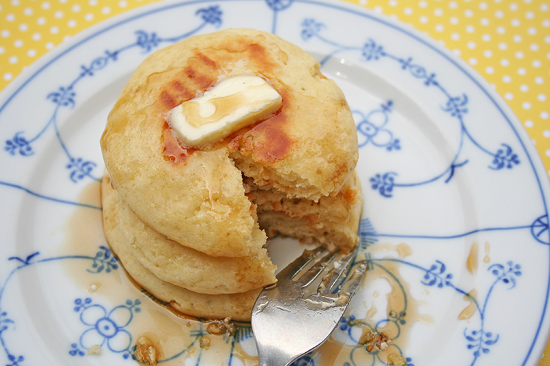 Pancakes made in the oven