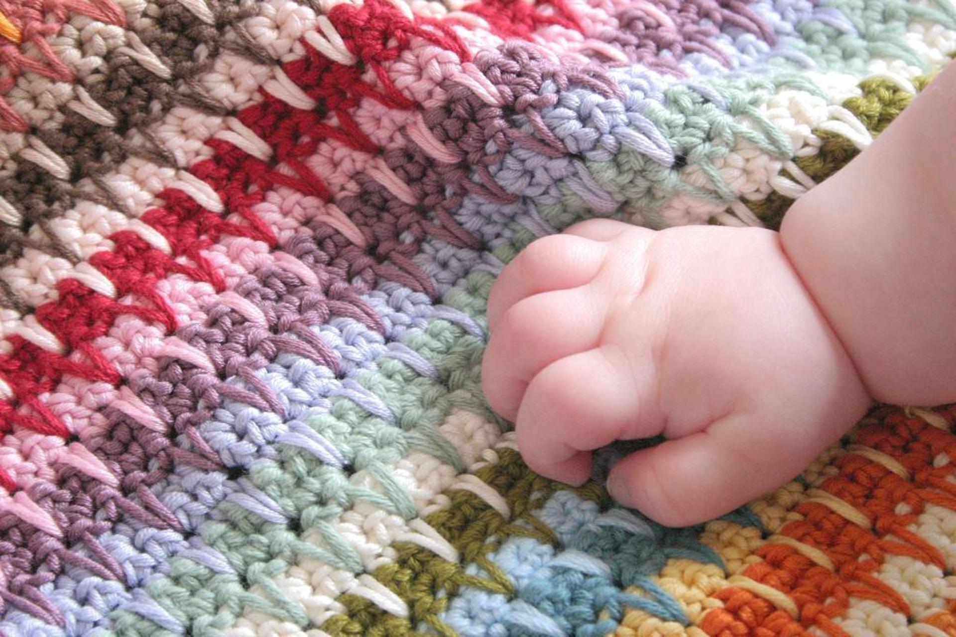 retro baby blanket crochet pattern
