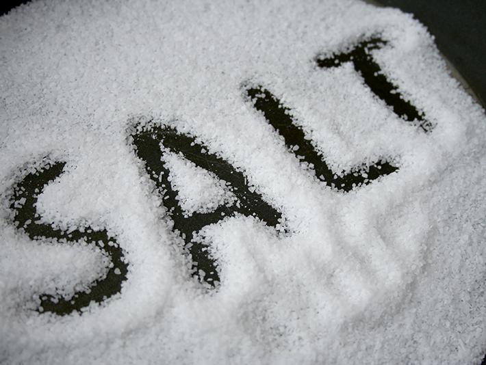 Salt in baking
