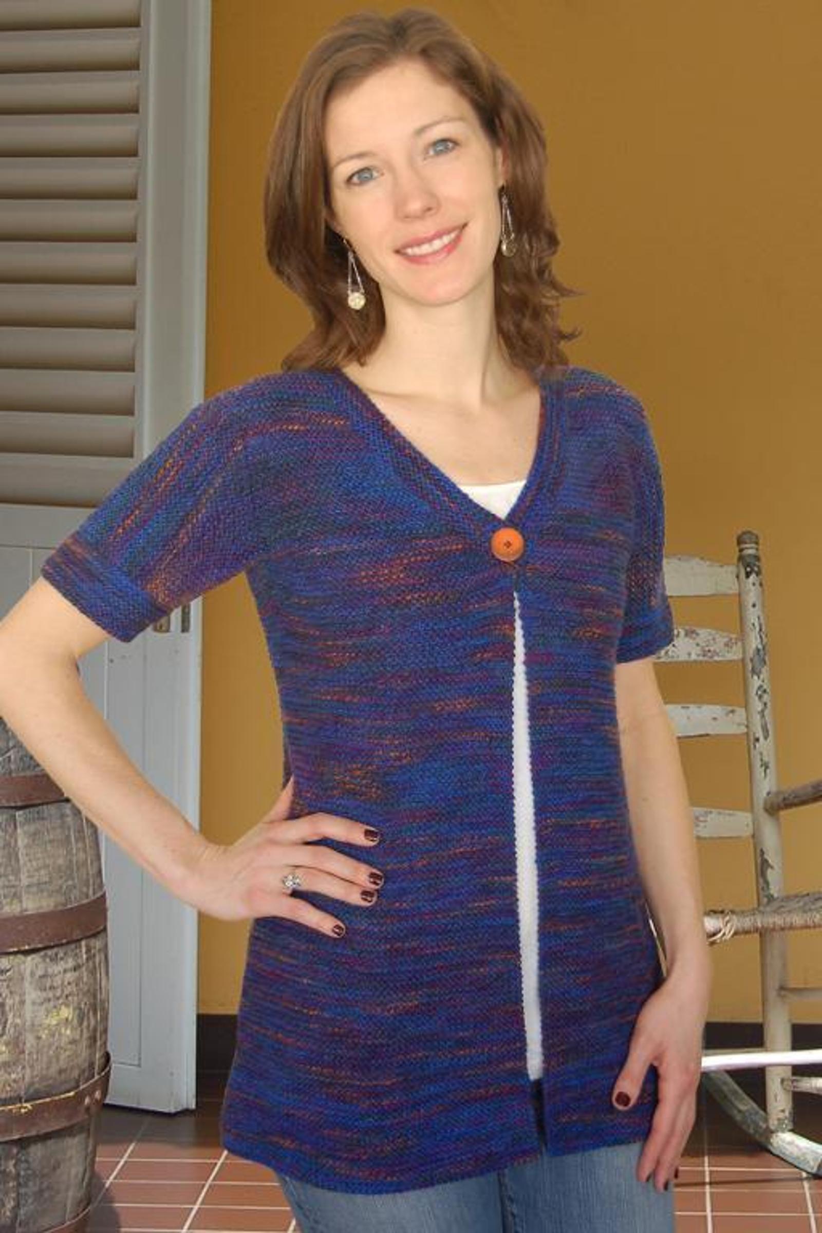 Starry Night Cardigan Knitting Pattern