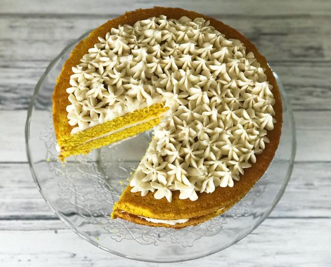 turmeric cake