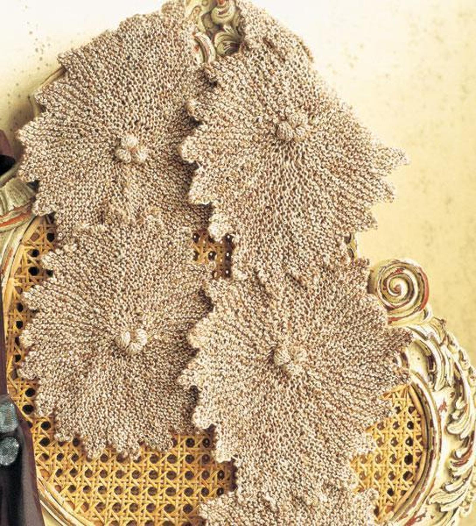 Tuscan Sun Scarf Knitting Pattern