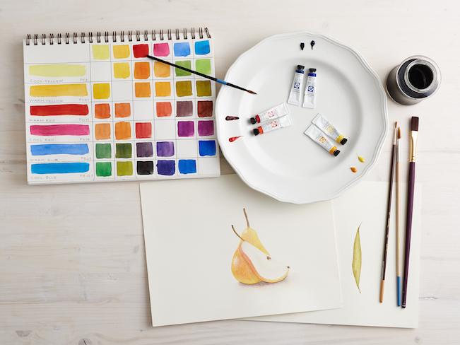 Planning a Watercolor Palette