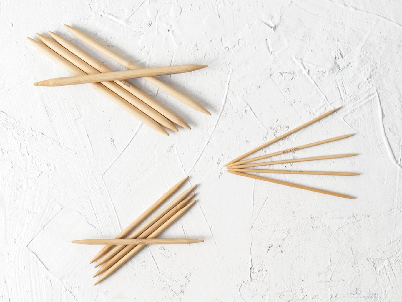 Tulip Bamboo Double Pointed Knitting Needles