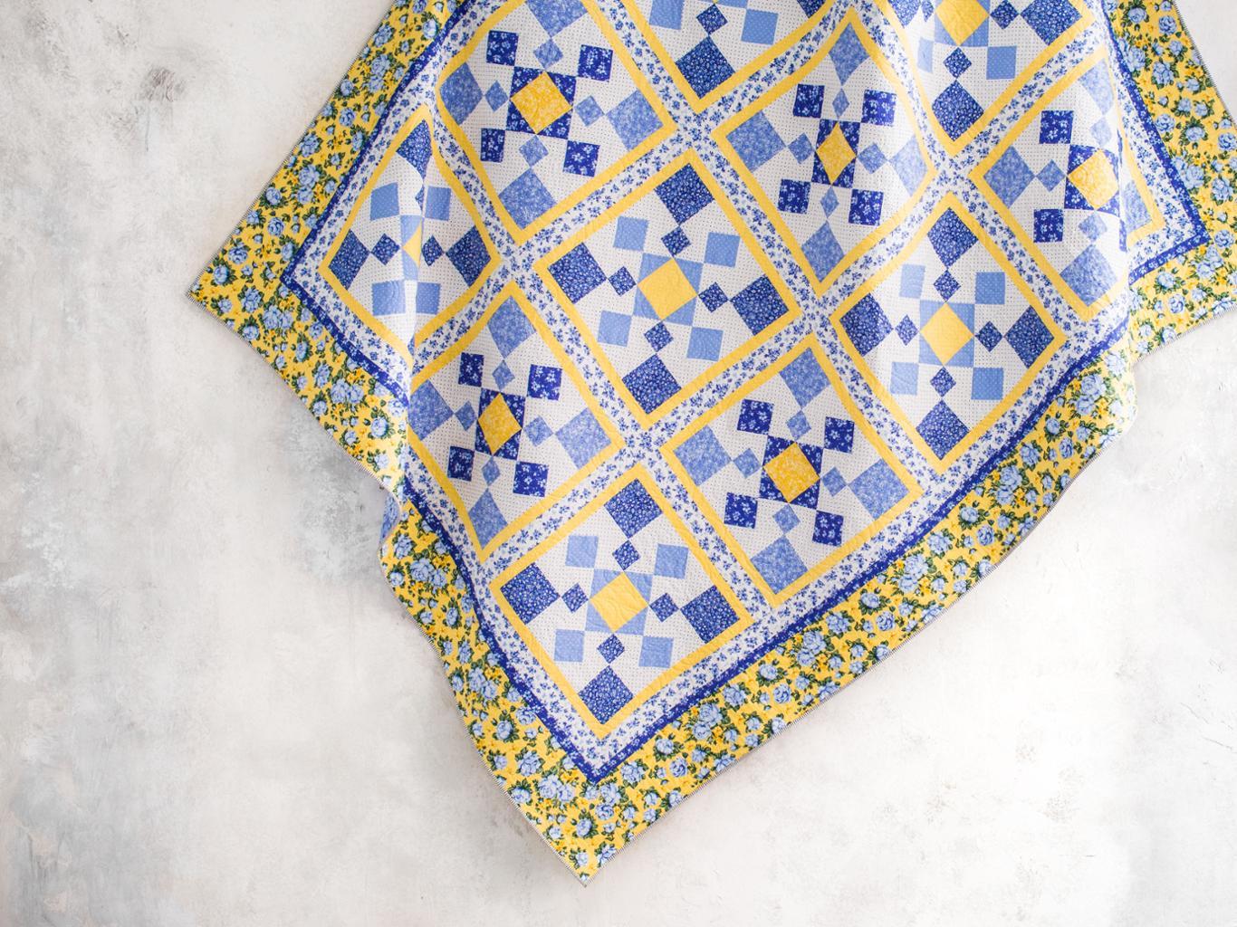 Cottage Garden Quilt Kit