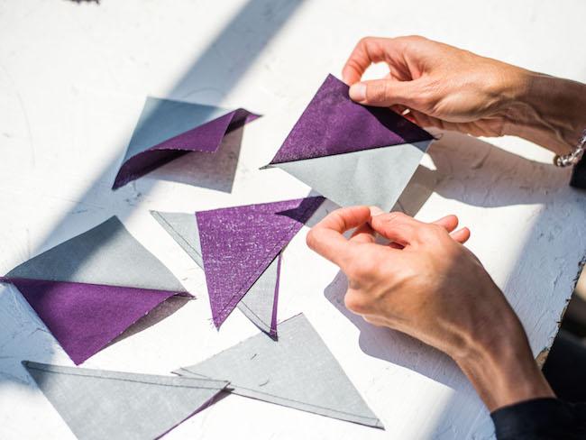 Magic 8 Half-Square Triangles