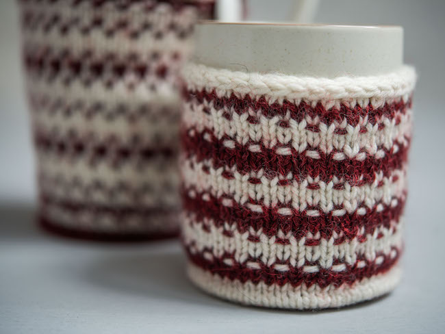 Holiday Mug Shrug Knitting Kit