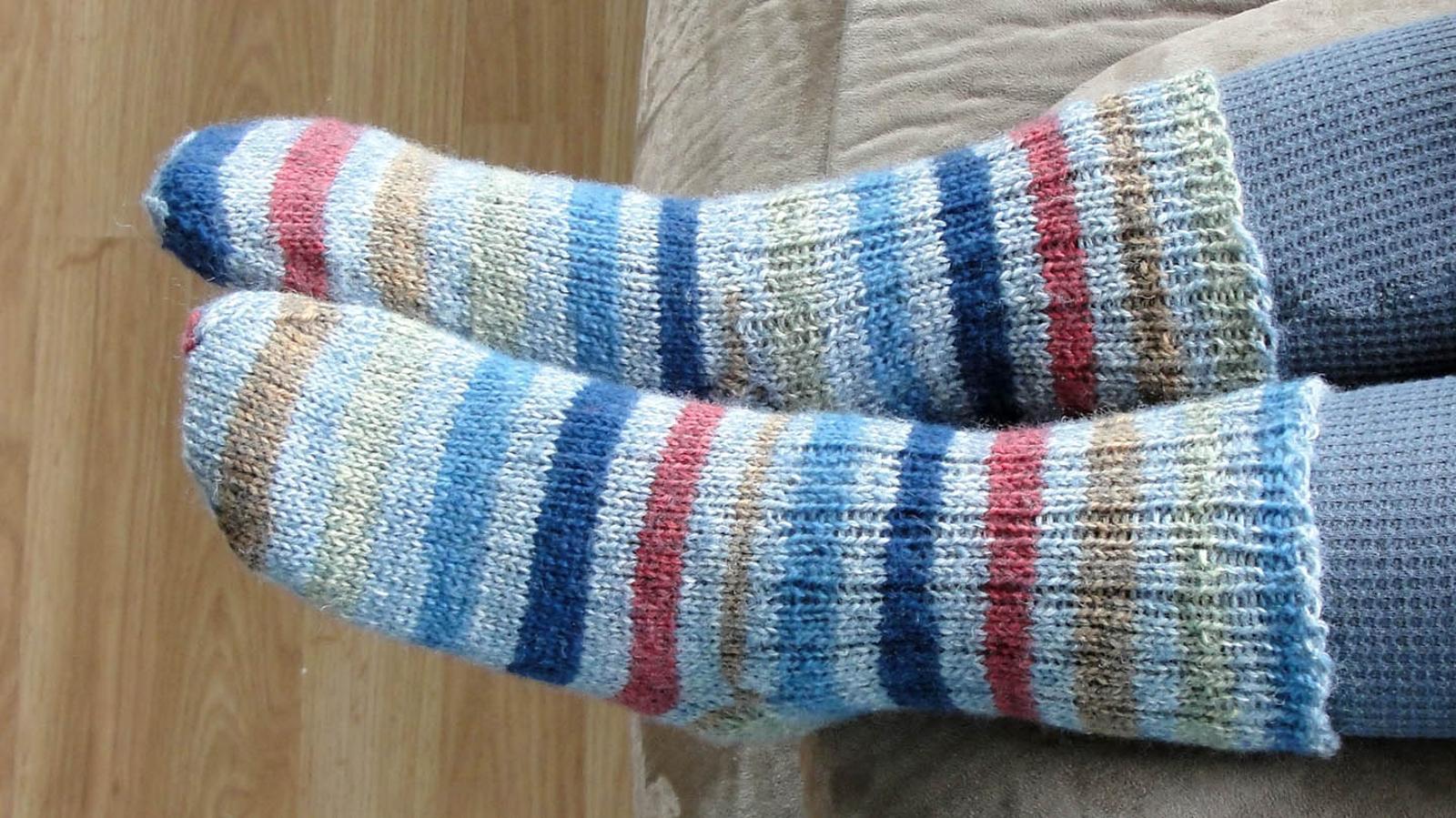 Just Plain Socks Knitting Pattern