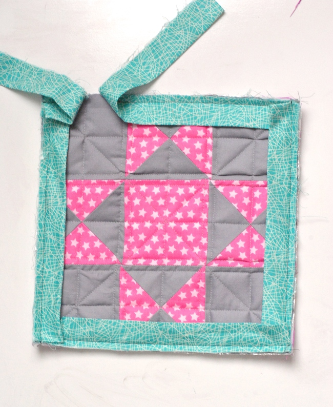 Joining quilt binding ends