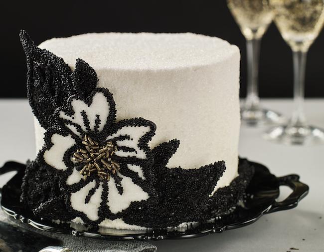 Finished Sophisticated Sprinkle Cake   Erin Bakes Cake   Erin Gardner   Bluprint
