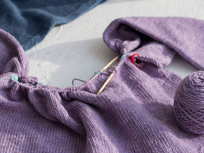 Zadie Sweater In Progress