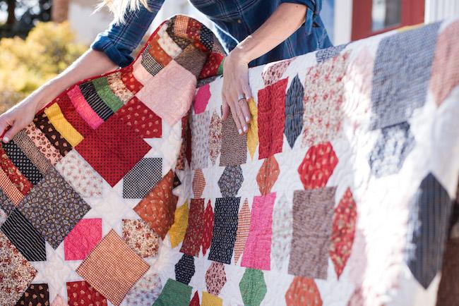 Morning Star Quilt Kit