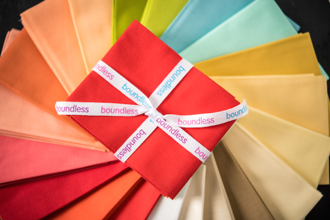 Boundless Solids Modern Brights Fat Quarters