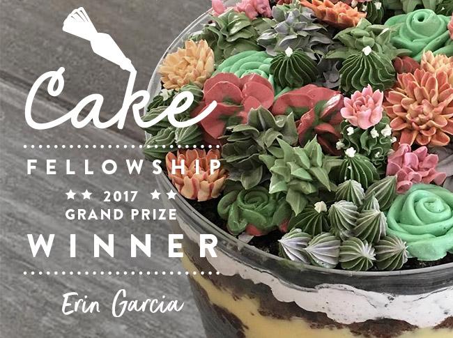 Bluprint Cake Fellowship 2017 - Grand Prize Winner Erin Garcia