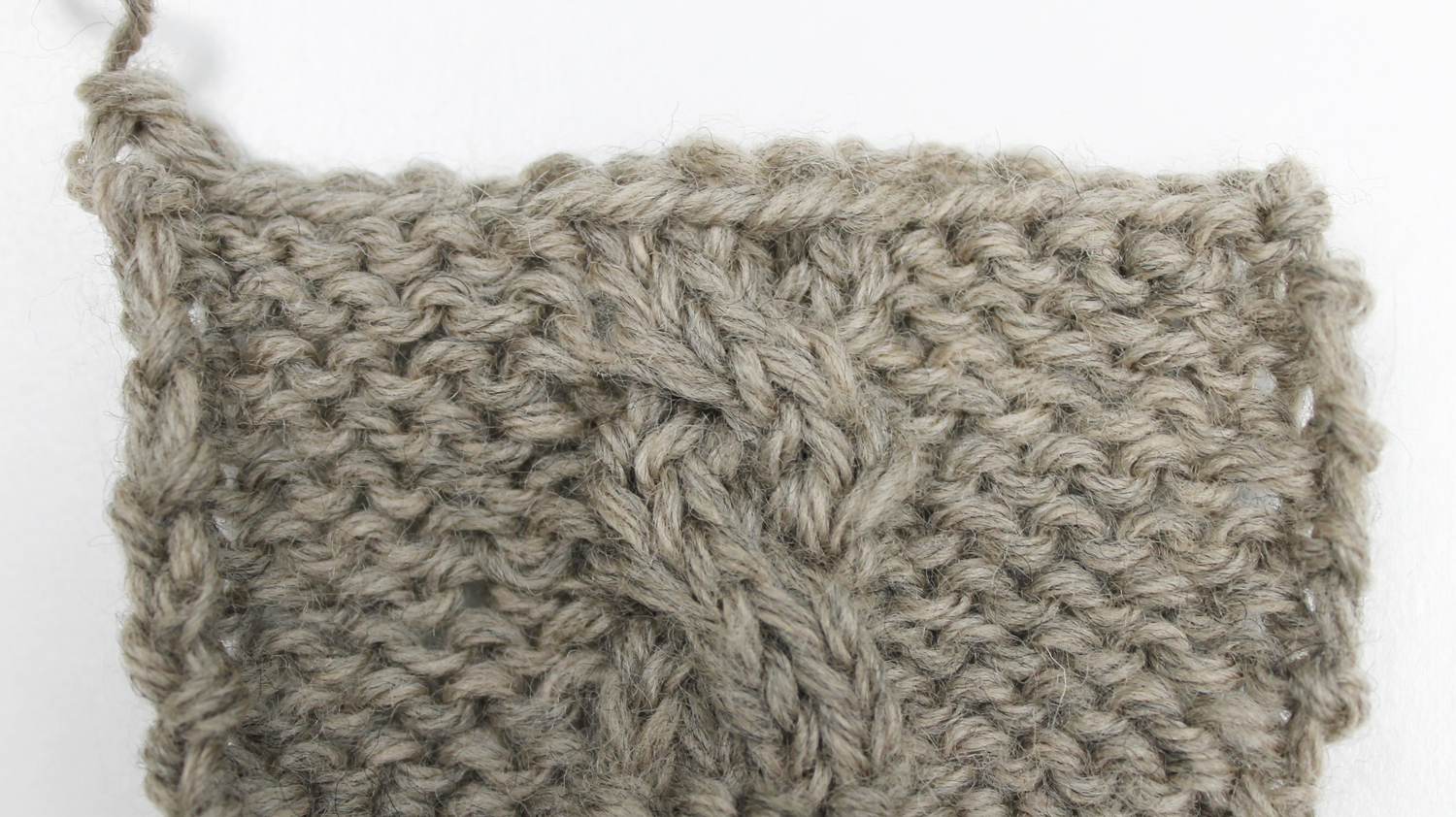 Cable standard bind off