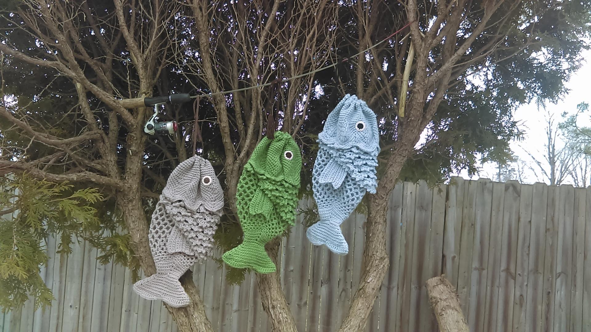 crochet fish purse pattern