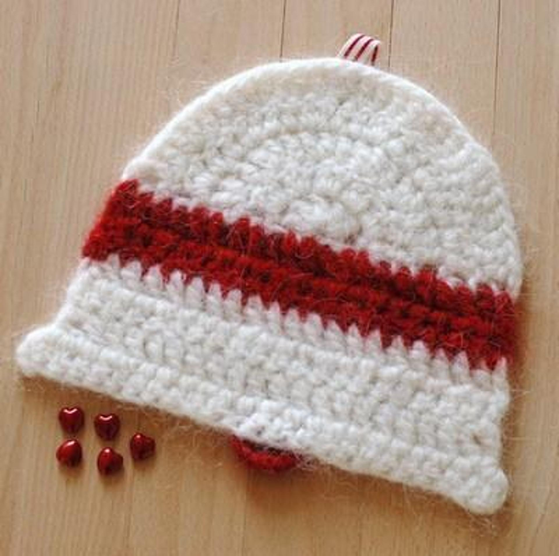 christmas bell coaster crochet pattern