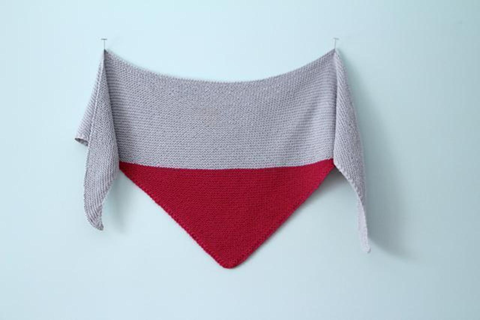 Colorblock Shawl