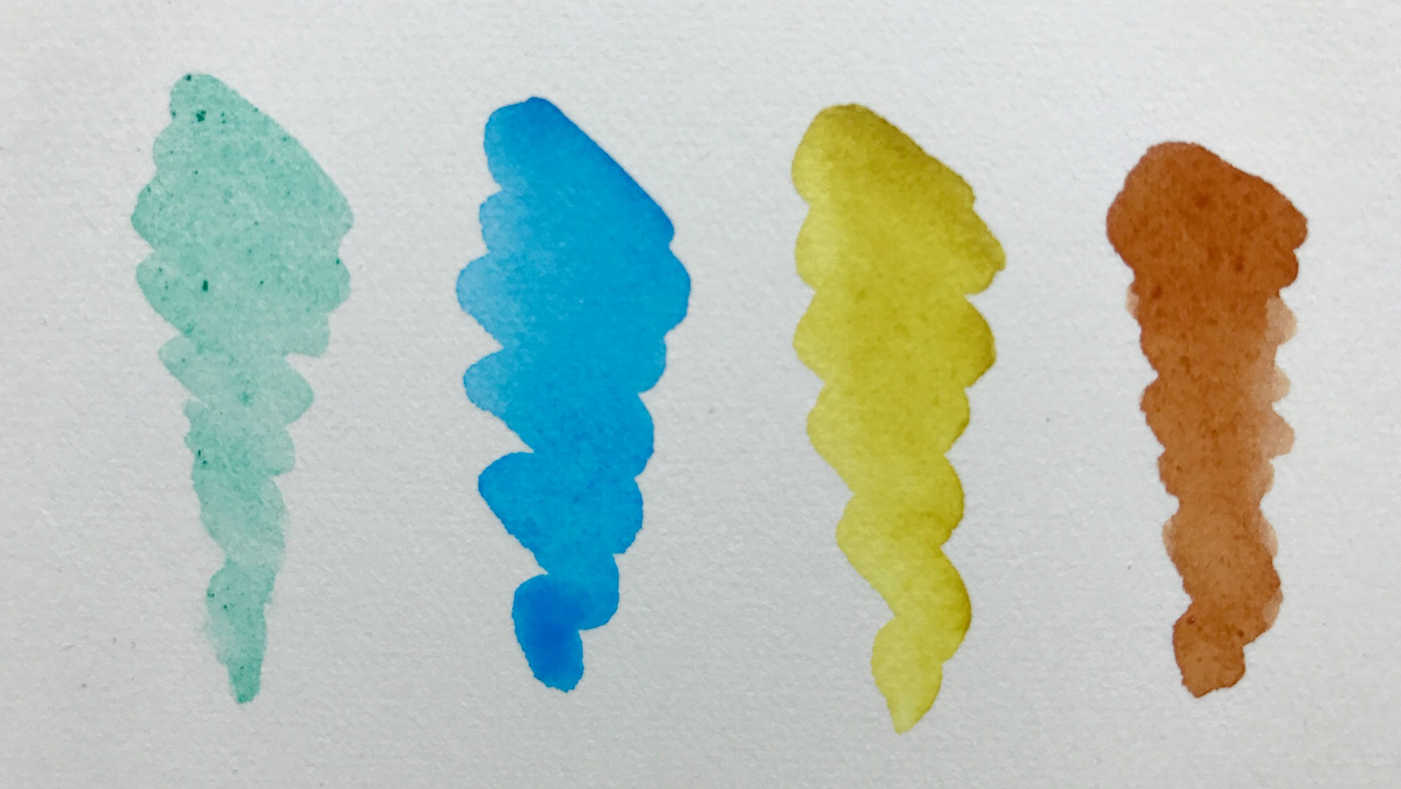 watercolor samples