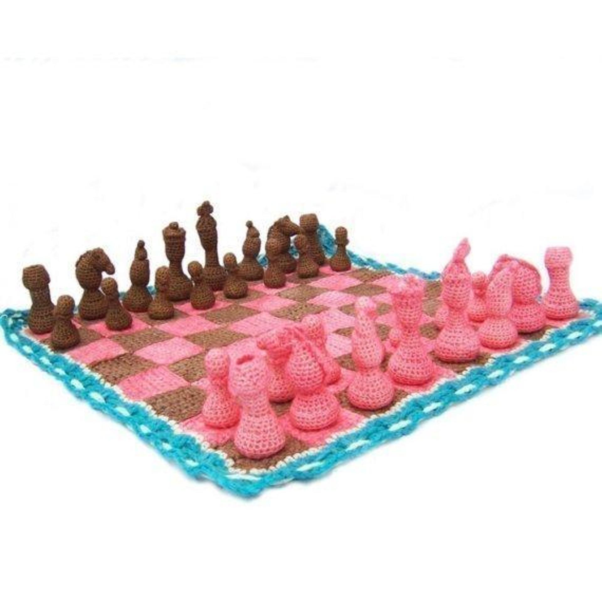 crochet chess set pattern