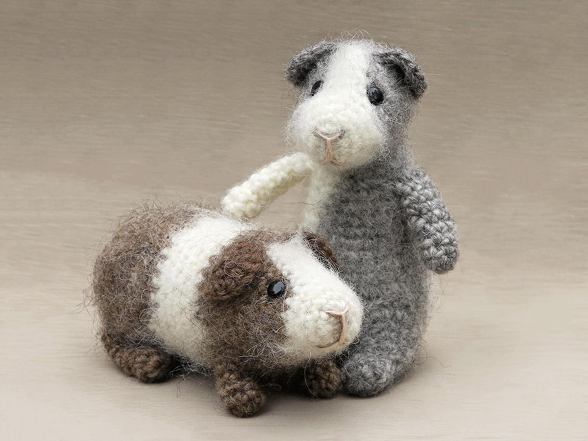 crochet guinea pig patterns