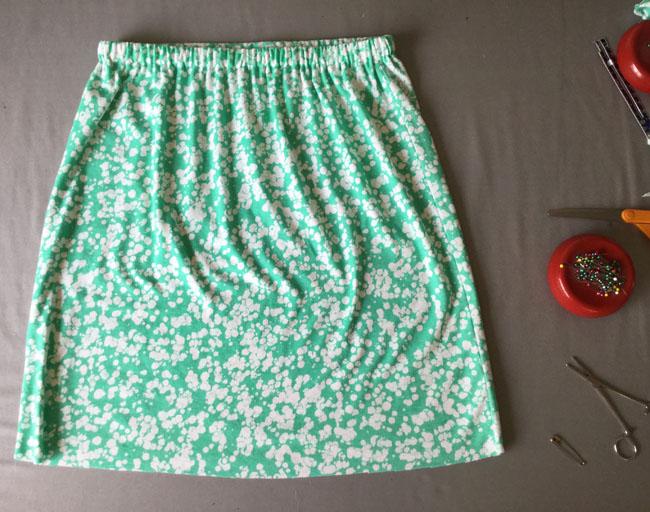 hem the skirt
