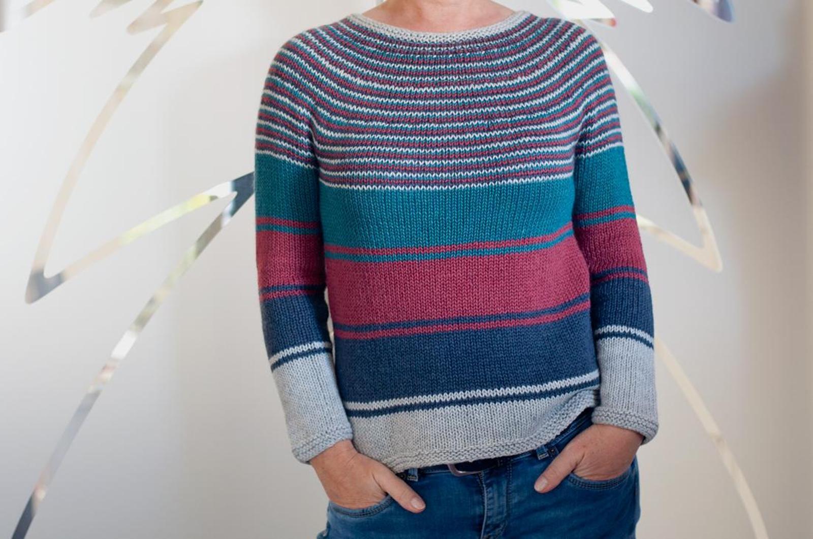 Josie Top Down Sweater