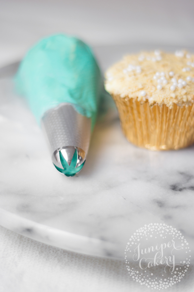 The perfect ruffled buttercream cupcake tip