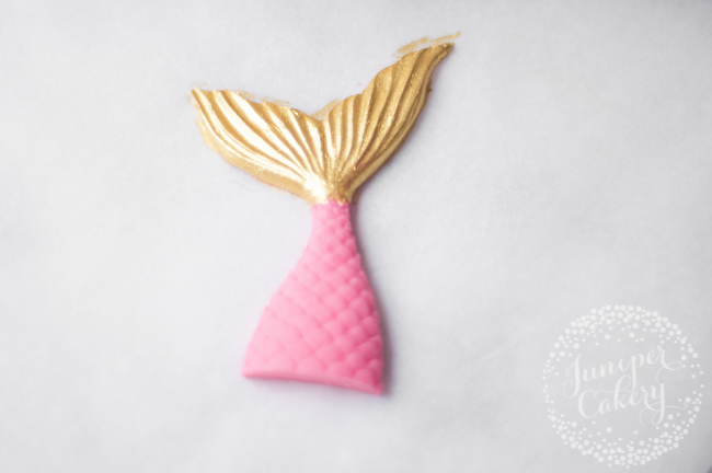 How to make a candy melt mermaid tail