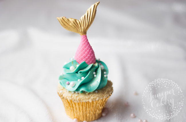 Mermaid cupcake tutorial