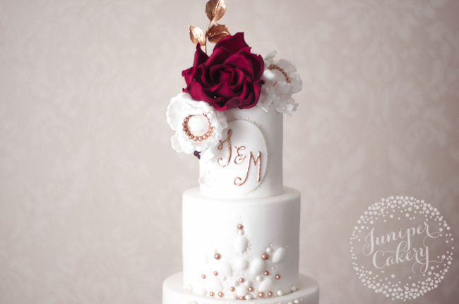 Learn how to add monograms to cakes