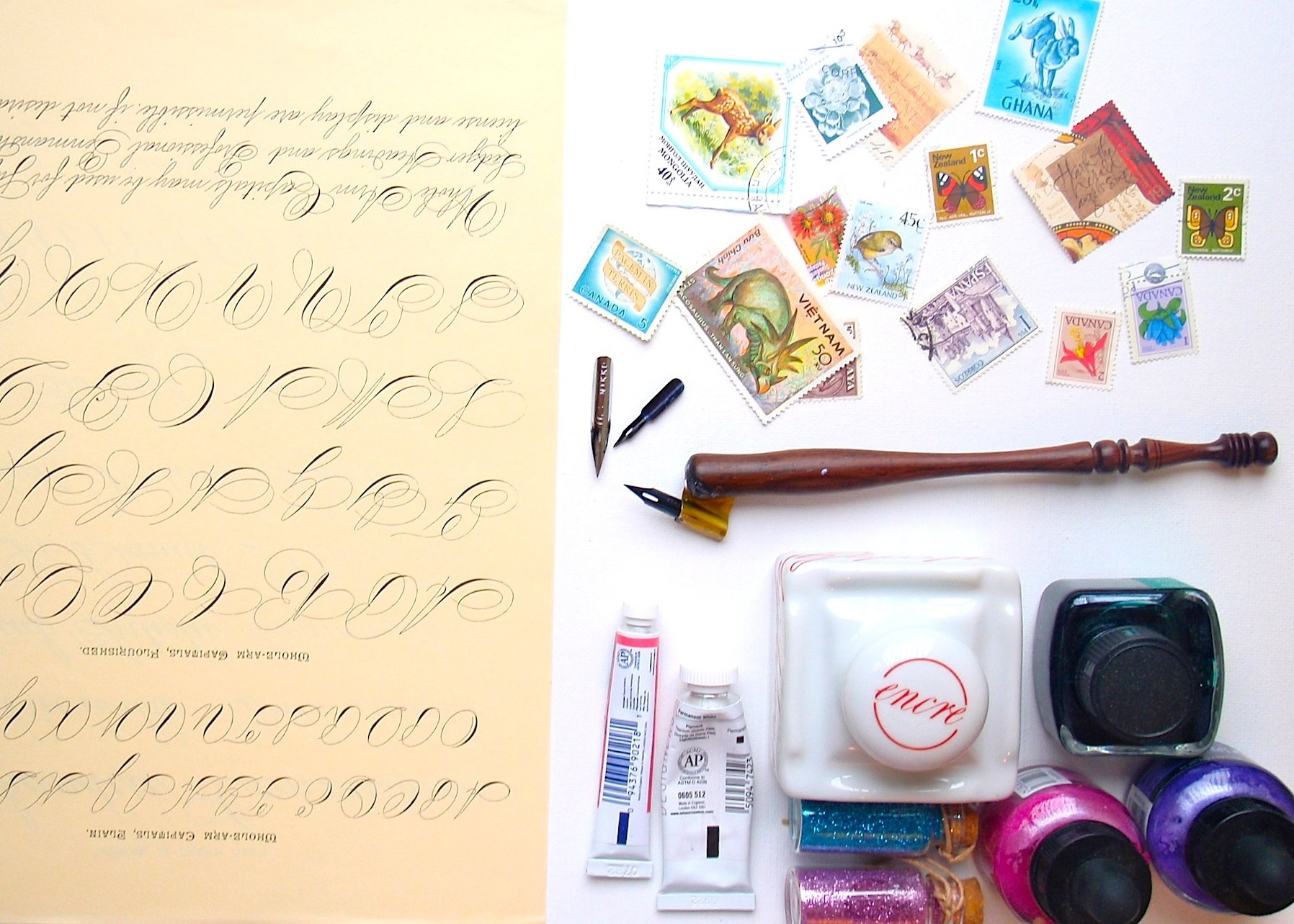 Beginner Calligraphy Supplies